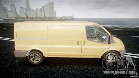 Ford Transit 2009 para GTA 4 vista interior