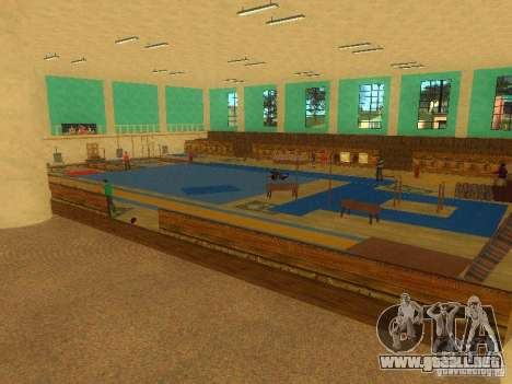 Tricking Gym para GTA San Andreas