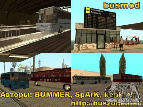 BUSmod para GTA San Andreas