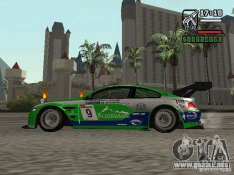 Alpina B6 GT3 para GTA San Andreas left