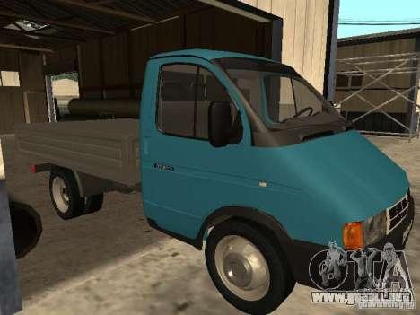 GAZ 33021 para GTA San Andreas left