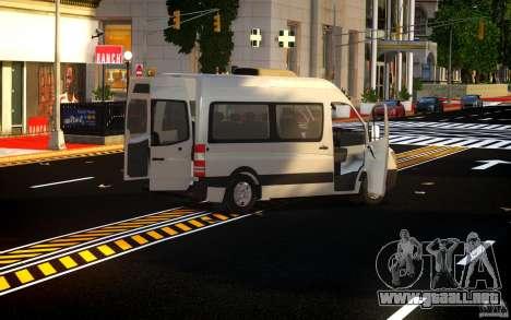 Mercedes-Benz Sprinter Passenger para GTA 4 vista interior