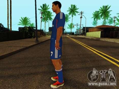 Cristiano Ronaldo v2 para GTA San Andreas tercera pantalla