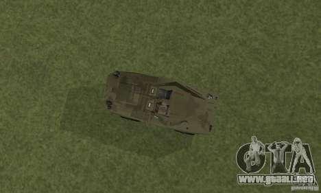 BRDM-1 piel 3 para GTA San Andreas vista hacia atrás