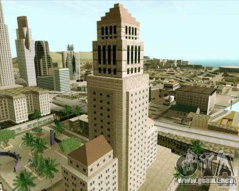Los Santos City Hall para GTA San Andreas quinta pantalla