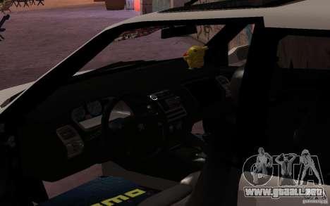 Peugeot 106 GTi para la visión correcta GTA San Andreas