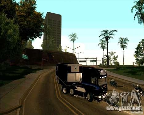 Scania R620 Pimped para la visión correcta GTA San Andreas