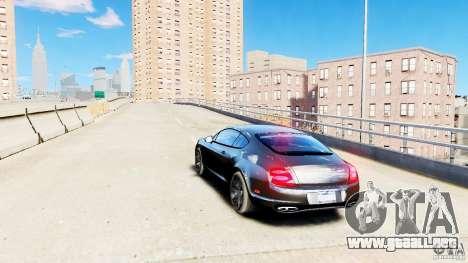 Bentley Continental SuperSports v2.5 para GTA 4 Vista posterior izquierda