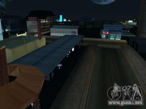 La Villa De La Noche v 1.0 para GTA San Andreas sucesivamente de pantalla