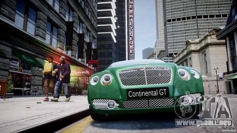 Bentley Continental GT para GTA motor 4