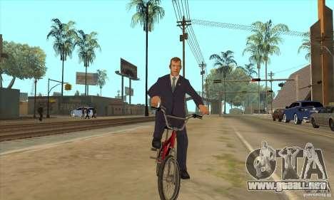 Dmitry Anatolyevich Medvedev para GTA San Andreas sucesivamente de pantalla