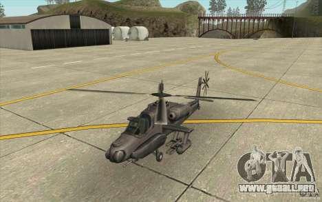 Steal Hunter para GTA San Andreas left