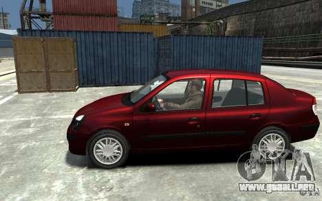 Renault Clio 1.4L para GTA 4 left