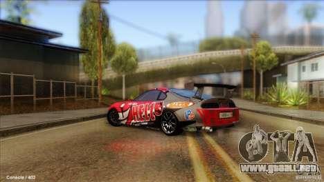 Toyota Supra HELL para GTA San Andreas left