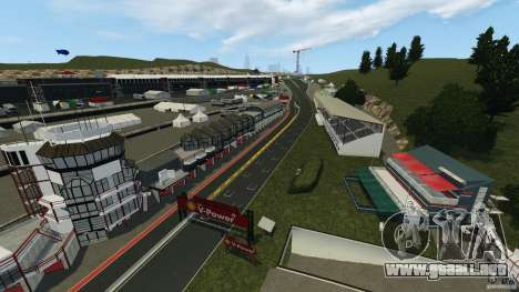 SPA Francorchamps [Beta] para GTA 4 tercera pantalla