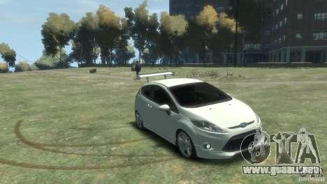 Ford Fiesta para GTA 4 visión correcta