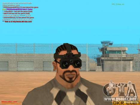 Thermal Goggles para GTA San Andreas