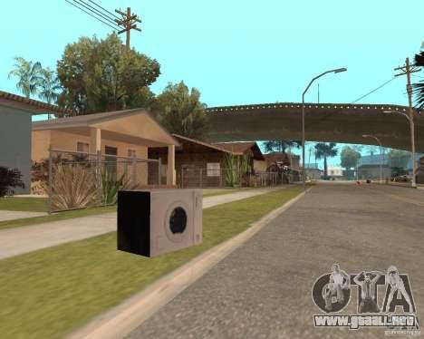 Remapping Ghetto v.1.0 para GTA San Andreas sucesivamente de pantalla