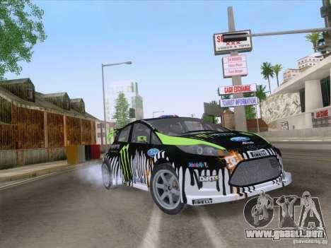 Ford Fiesta para visión interna GTA San Andreas