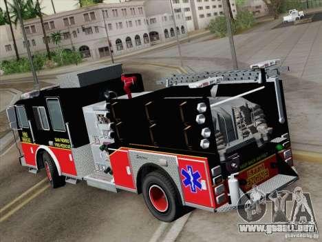 Seagrave Marauder Engine SFFD para GTA San Andreas