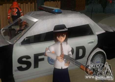 Anime Characters para GTA San Andreas novena de pantalla