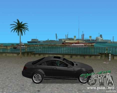 Mercedess Benz CL 65 AMG para GTA Vice City visión correcta