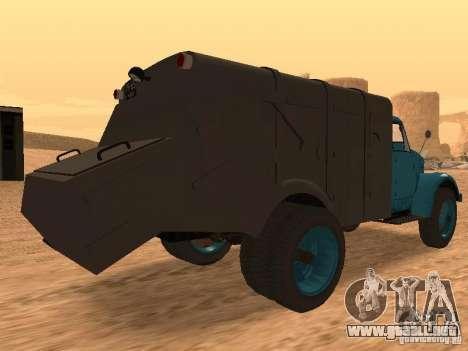 Camión GAZ 51 para la visión correcta GTA San Andreas