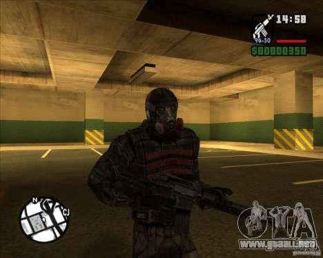 Grupo de acosadores deuda para GTA San Andreas sucesivamente de pantalla