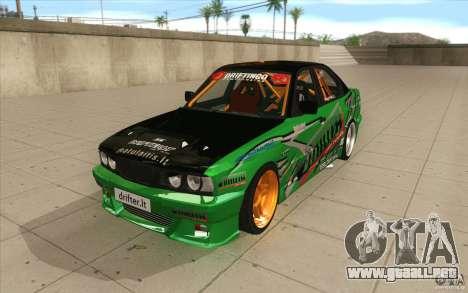 BMW E34 V8 Wide Body para GTA San Andreas
