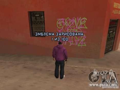 Ballas 4 Life para GTA San Andreas octavo de pantalla