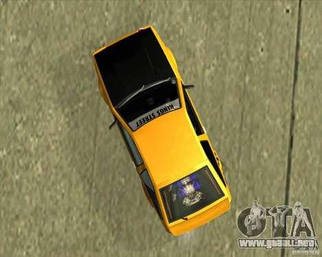 Toyota AE86 Levin para la visión correcta GTA San Andreas