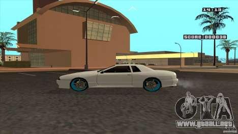 Drift Elegy by KaLaSh para GTA San Andreas vista posterior izquierda