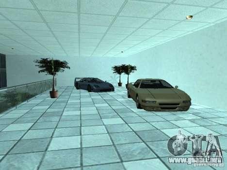 Más coches en el salón del automóvil de Doughert para GTA San Andreas quinta pantalla