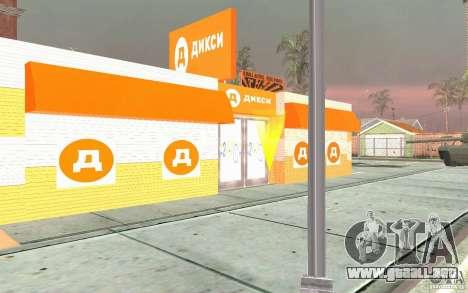 Nueva tienda de Dixie para GTA San Andreas