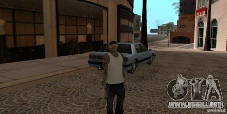 Skin Pack Vagos para GTA San Andreas segunda pantalla
