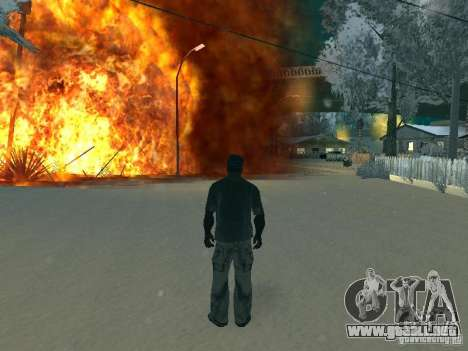 Salut v1 para GTA San Andreas sucesivamente de pantalla