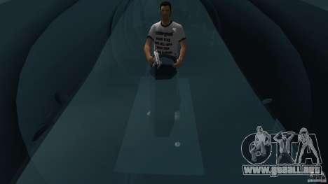 Seehund Midget Submarine skin 2 para GTA Vice City vista posterior