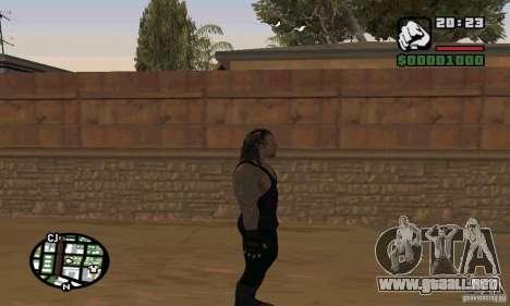 El empresario de pompas fúnebres de Smackdown 2 para GTA San Andreas séptima pantalla