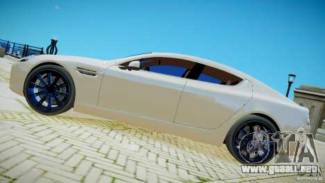 Aston Martin Rapide para GTA 4 Vista posterior izquierda