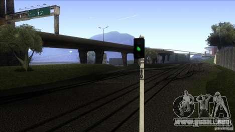 Un nuevo algoritmo de tren 5 para GTA San Andreas tercera pantalla