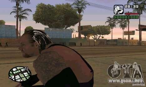 El empresario de pompas fúnebres de Smackdown 2 para GTA San Andreas sucesivamente de pantalla