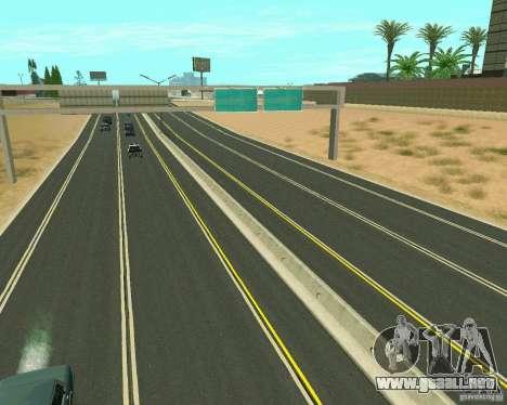 GTA 4 Road Las Venturas para GTA San Andreas séptima pantalla