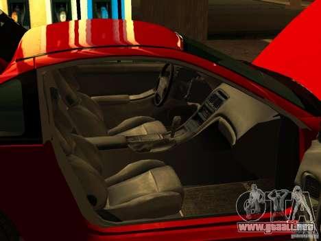 Nissan 300ZX para GTA San Andreas vista hacia atrás