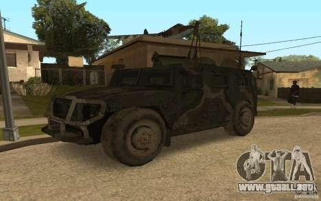 Gaz 2975 tigre para GTA San Andreas