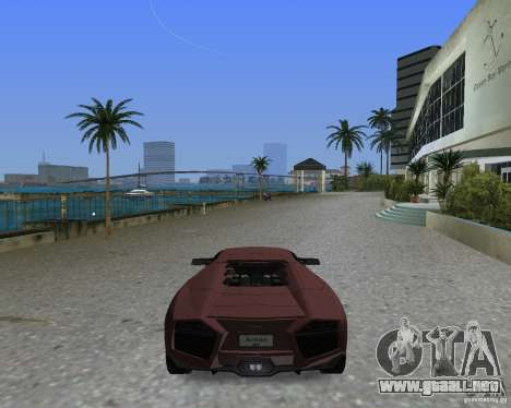 Lamborghini Reventon para GTA Vice City left