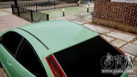 Ford Focus RS para GTA 4 vista interior