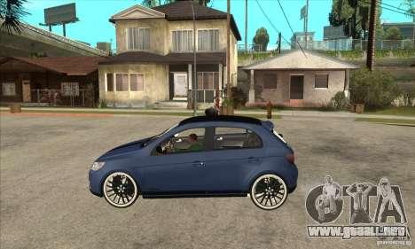 Volkswagen Gol Vintage para GTA San Andreas left
