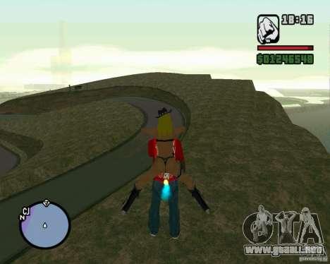 Ebisu Touge para GTA San Andreas segunda pantalla