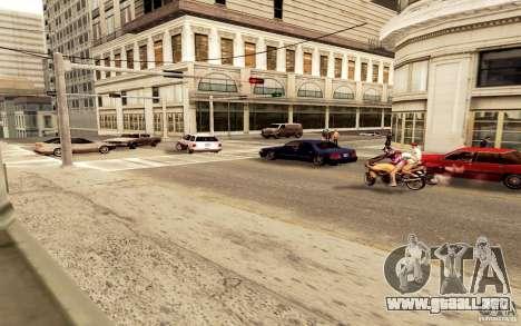 Un nuevo algoritmo para tráfico de vehículos para GTA San Andreas segunda pantalla