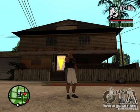 Ayuda bratkov para GTA San Andreas